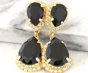 accessories, bridal, and earrings image