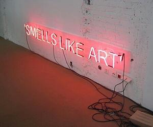art, light, and neon image
