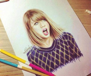 art, Taylor Swift, and draw image