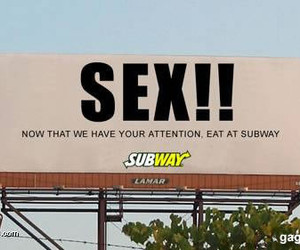 ad, subway, and advertisement image