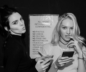 candice swanepoel, kendall jenner, and model image
