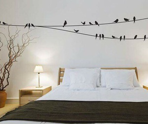 bedroom, birds, and inspiration image