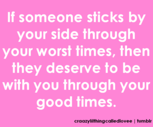 By Your Side, good, and good times image