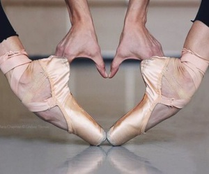 ballerina and heart image