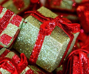 christmas, gift, and present image