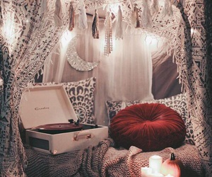 candles and vintage image