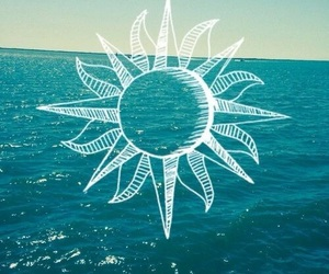 sun, summer, and sea image