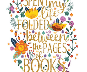book, bookworm, and quotes image