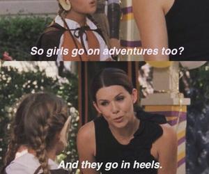adventure, girls, and heels image