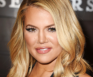 blonde hair, glossy lips, and plastic surgery image