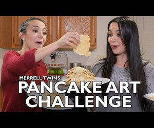 challenge, cooking, and pancakes image