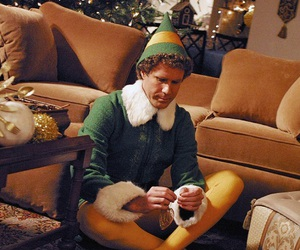 christmas, elf, and movie image