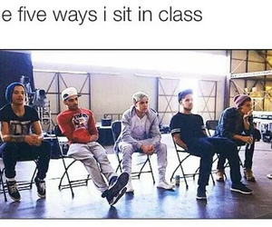 one direction, funny, and class image