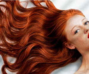 Cintia Dicker, red hair, and ginger image