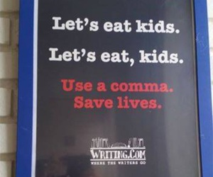 comma and funny image