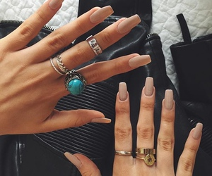 fancy, jewellery, and nail polish image