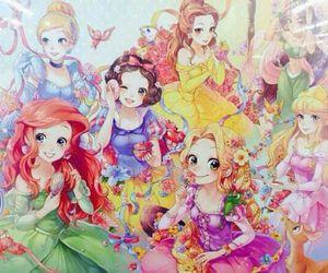 princess, disney, and disney princess image