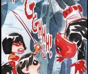art, comic, and red hood image