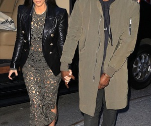beauty, couple, and jacket image