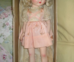 doll, vintage, and cute image