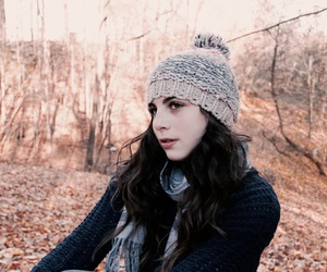 autumn, sweater, and beanie image