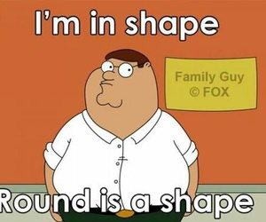 family guy, funny, and shape image