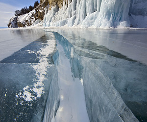 blue, ice, and cold image