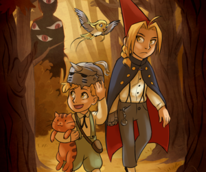 over the garden wall, Greg, and fullmetal alchemist image