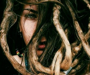 dreads, good vibes, and rasta girls image