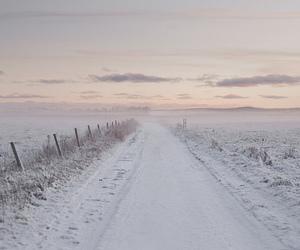 snow, winter, and landscape image