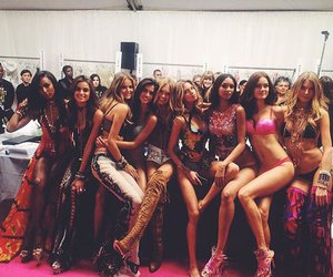 model, girls, and Victoria's Secret image