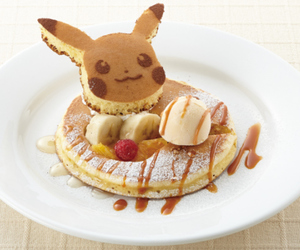 food, pikachu, and pokemon image