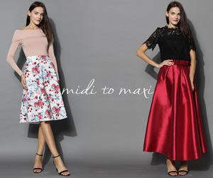 fashion, look, and maxi image
