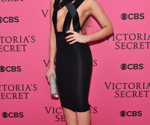 celebrity, victoria secret, and kristina bazan image