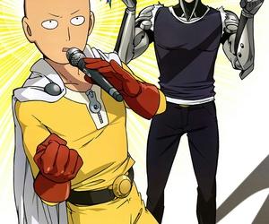one punch man, anime, and saitama image