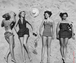 girls, retro, and vintage image