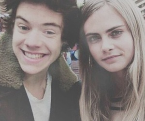 cara delevingne, harra, and Harry Styles image