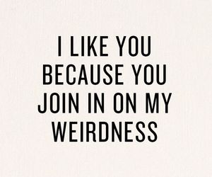 quotes, weirdness, and weird image
