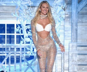 model, vs, and candice swanepoel image
