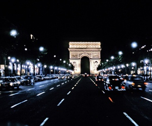 light, night, and paris image