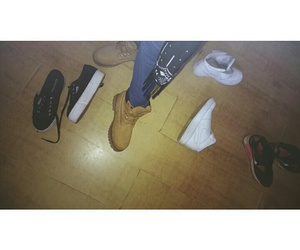airmax, timberlands, and nikeairforces image