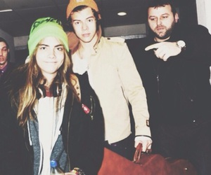cara delevingne, Harry Styles, and cara image