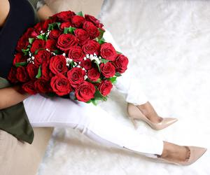 beauty, style, and roses image