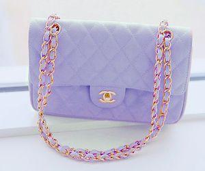 chanel, bag, and purple image