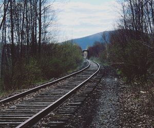nature, train, and photography image