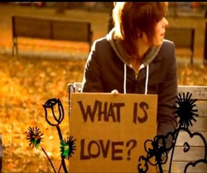 what is love, love, and chris drew image
