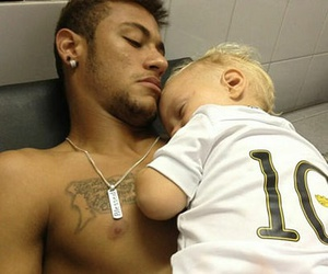 father and neymar image