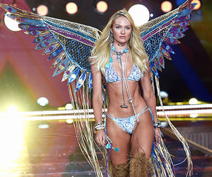 model, candice swanepoel, and angel image