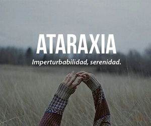 ataraxia, frases, and words image