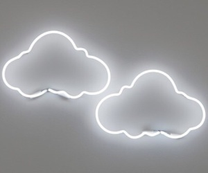 clouds, white, and light image